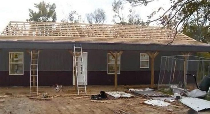 Awe-Inspiring Real Story: 1,440 Sq. Feet Metal Pole Barn for Only $68,000!!!