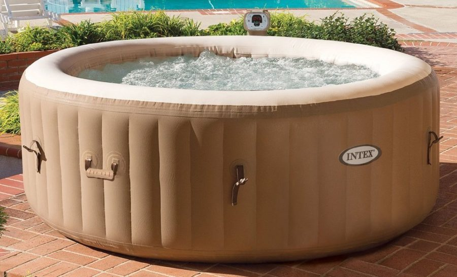 Inflatable Hot Tubs You Can Take With You Anywhere