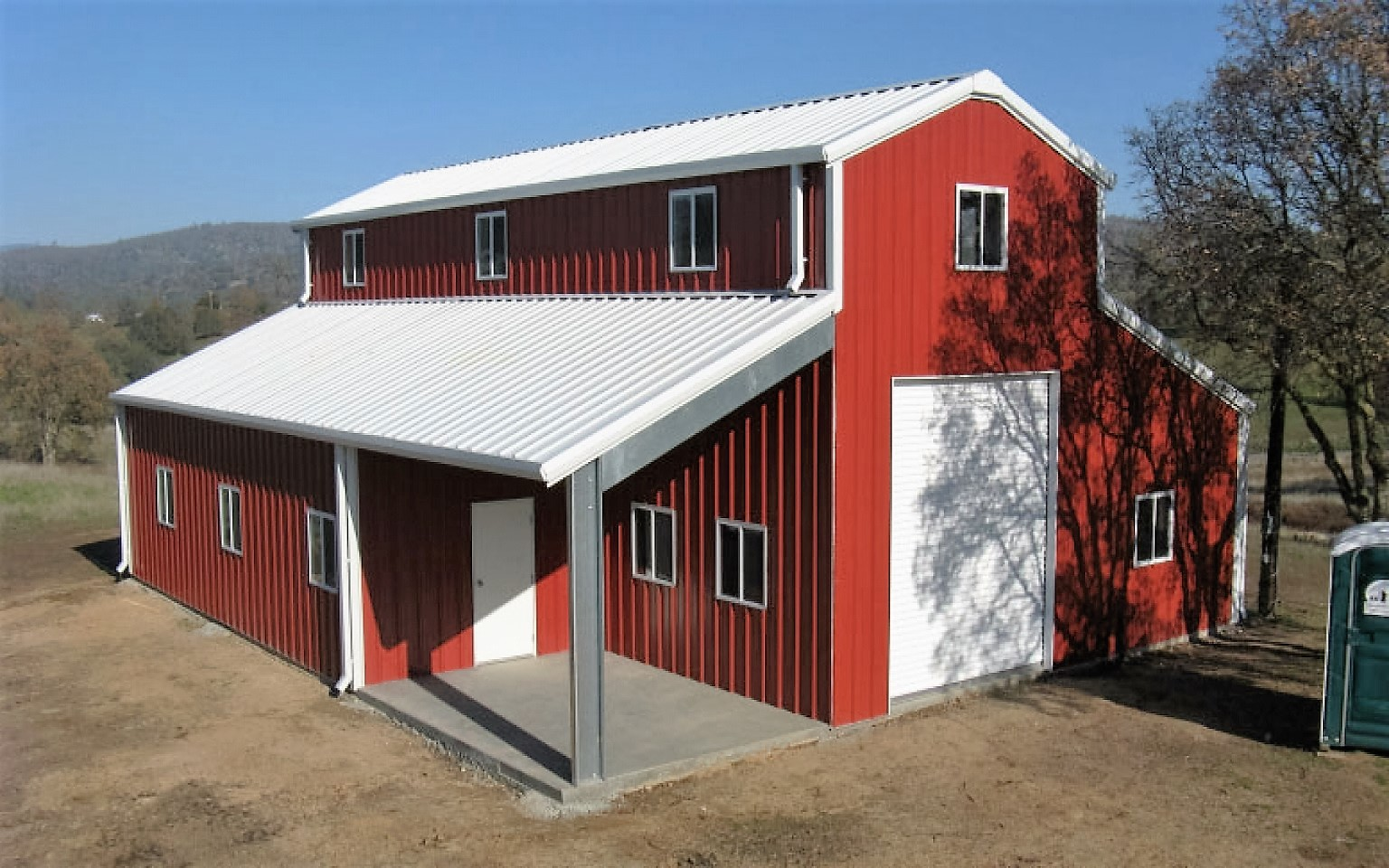 4 amazing metal building homes for How to build a metal building home