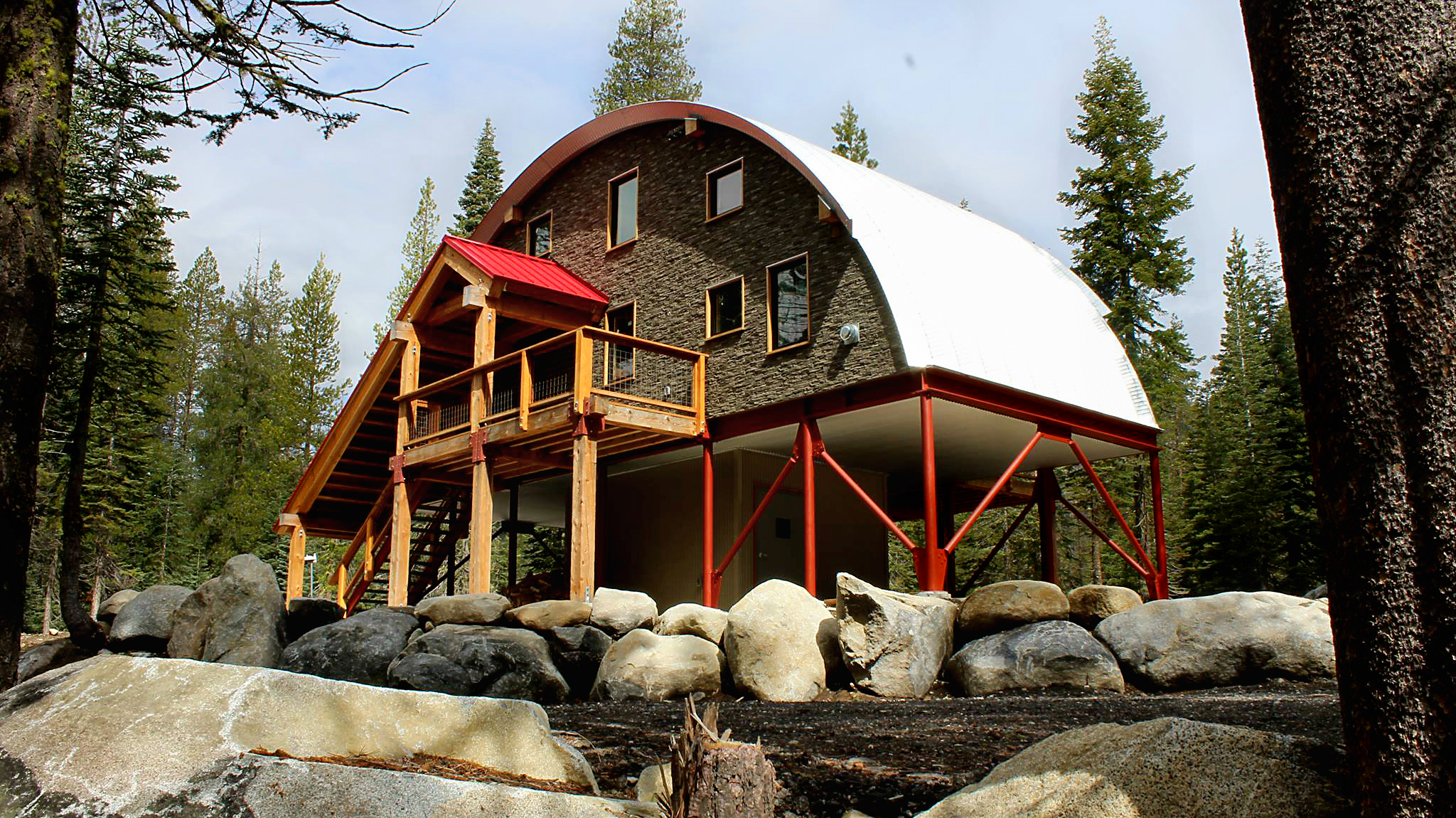 These Quonset Inexpensive Kit Homes Start at Less than $8,000 on african home designs, portable building home designs, storage shed home designs, classic home designs, quonset house designs, garage home designs, lodge home designs, airplane hangar home designs, hut house designs, barn home designs, shop home designs, metal home designs, cabana home designs, yurt home designs, log cabin home designs, underground bunker home designs, art moderne home designs, steel building home designs, steel quonset homes and designs, tent home designs,
