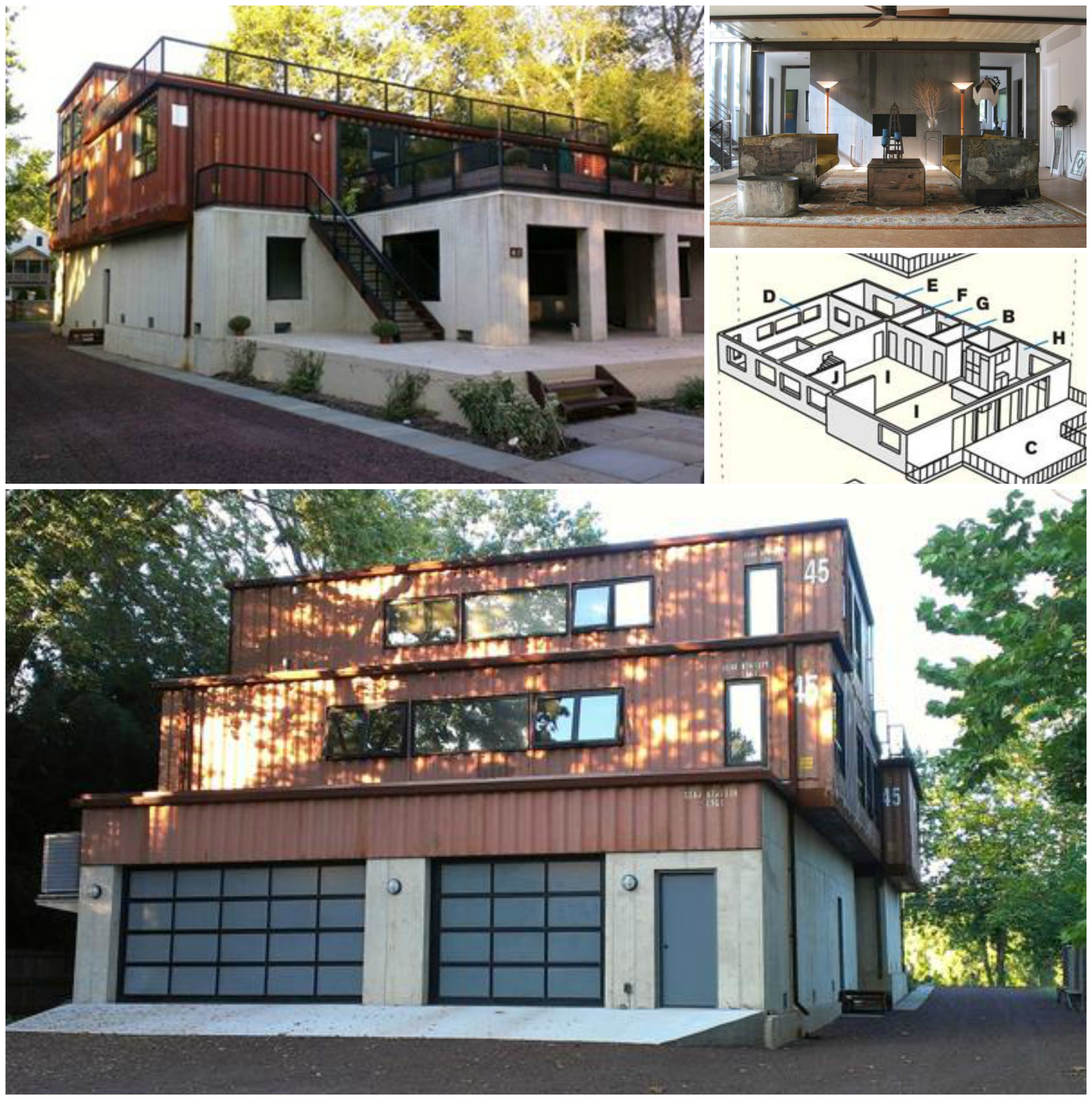 Hybrid Shipping Container House 3