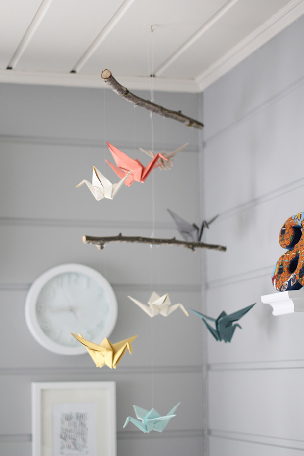 Decorative DIY Hanging Mobiles