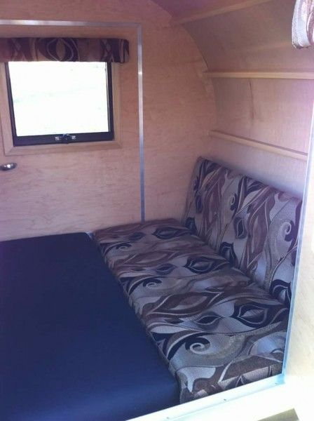 Look inside the Simple Sleeper: Its multi-purpose interior is very favourable