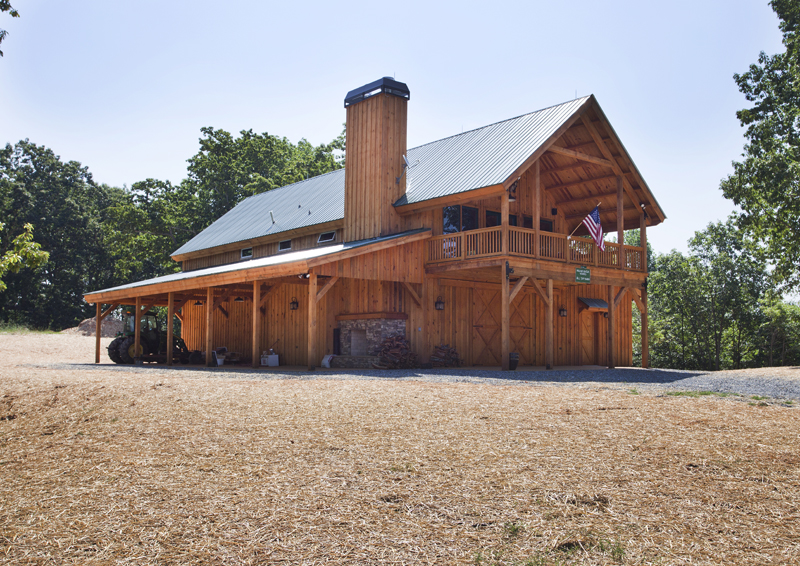 Barn Home with Storage Room
