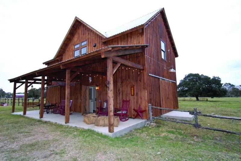 Combination barn home with open porch 9 for Traditional barn kits
