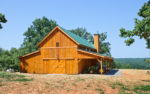 Impressive 24x60 Great Plains Western Barn Home with 14ft Lean-tos