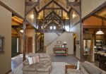 Spectacular Barn Home is with 12ft lean-tos, Dormers and Dark Stained Interior Beams