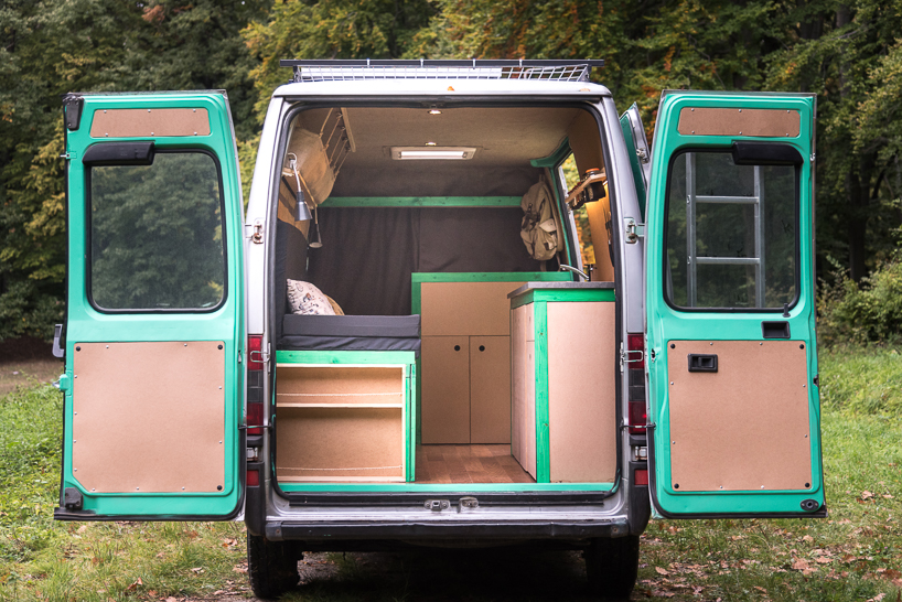 Van conversion by photographer Norbert Juhász