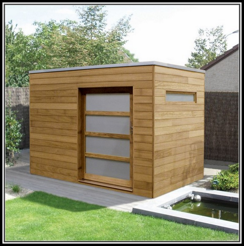 Beautiful designs of modern garden shed 25 for Garden building design ideas
