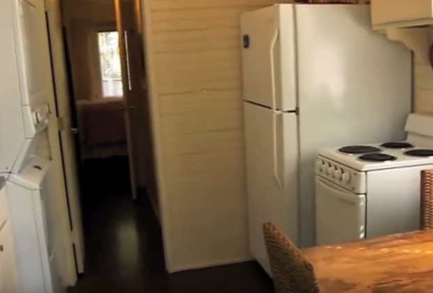 Mortgage Free In 320 Square Foot House 5