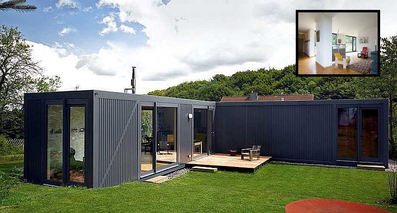 A Shipping Container House Project called Containerlove