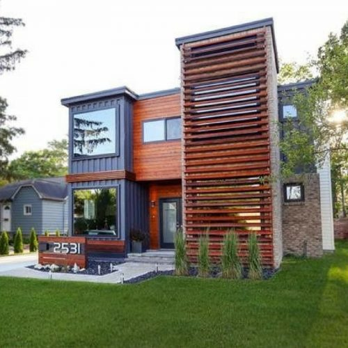 Royal Oak Shipping Container House 11