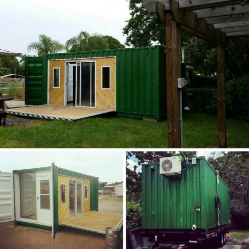 RUSTIC COUNTRY CONTAINER CABIN