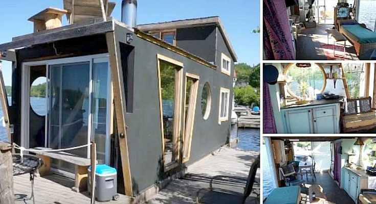Living Cheap on a DIY Houseboat