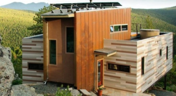 Shipping Container House … It's Off Grid
