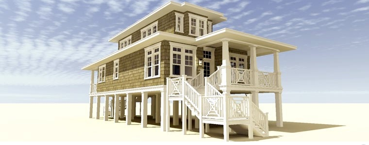 House with Elegant Interior and Exterior Designs
