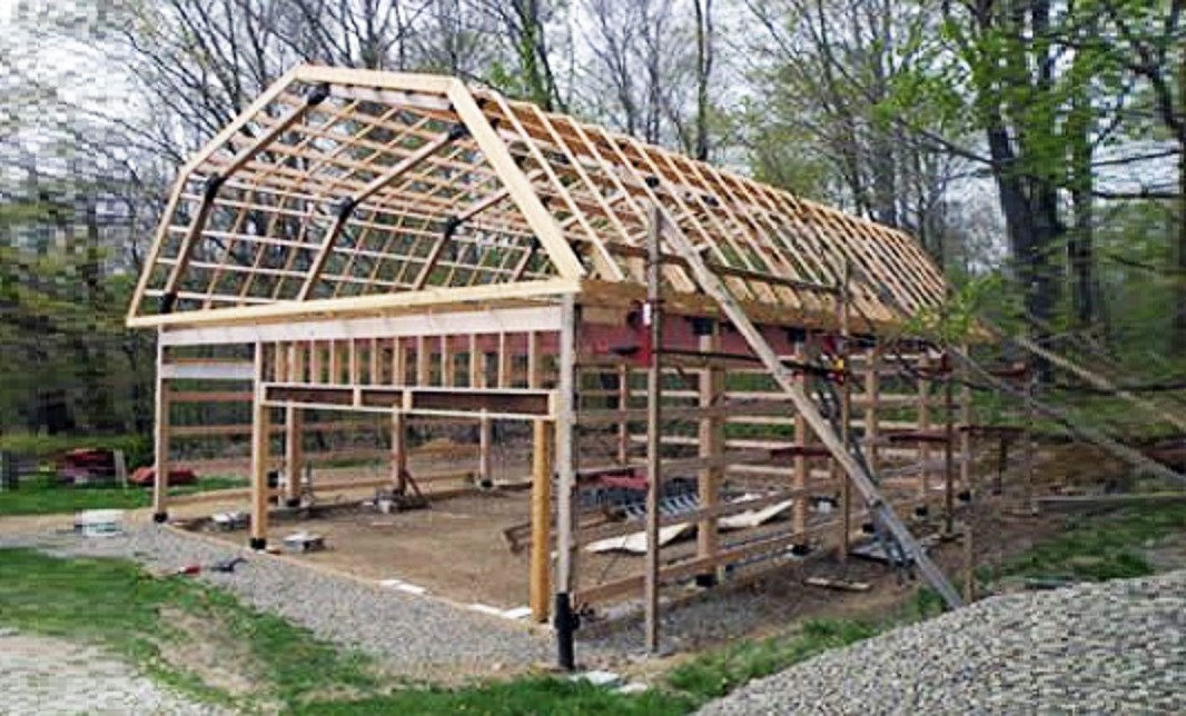 How to Build a Modified Post and Beam Frame