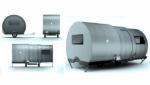 Amazing Micro-camper Can Triples its Size in Just 25 Seconds