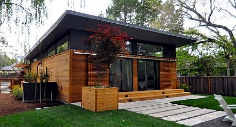 Atherton Shipping Container Residence, an Elegant Modular Home Design