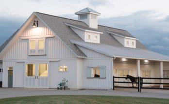 Now This Is a Barn House, and It's a Metal Building