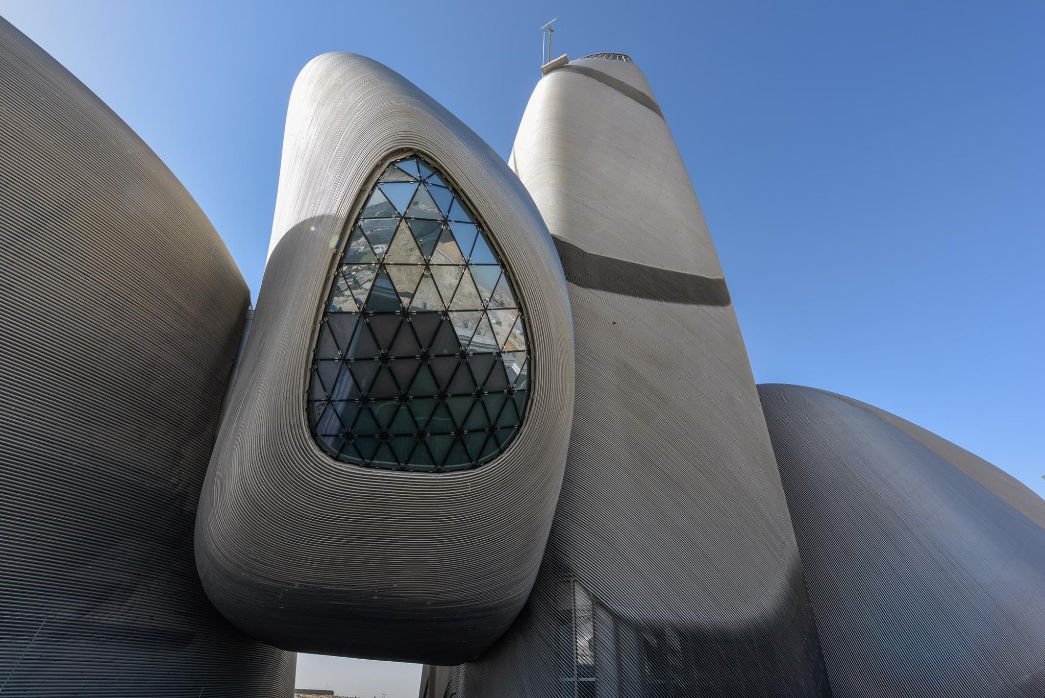 Futuristic World Culture Center Springs Up in the Desert