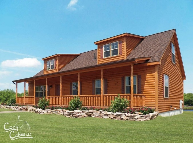 Live in A Desirable Log Home