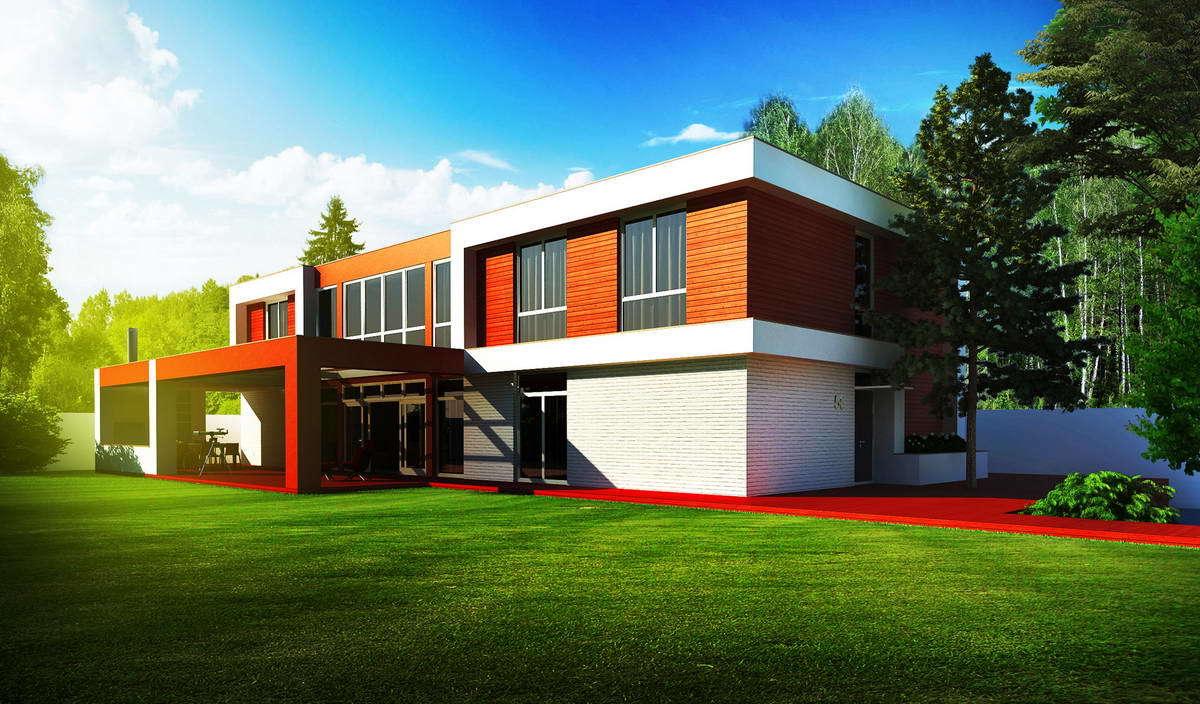 Nice Full House Plan Illustrating Minimalism and Functionality