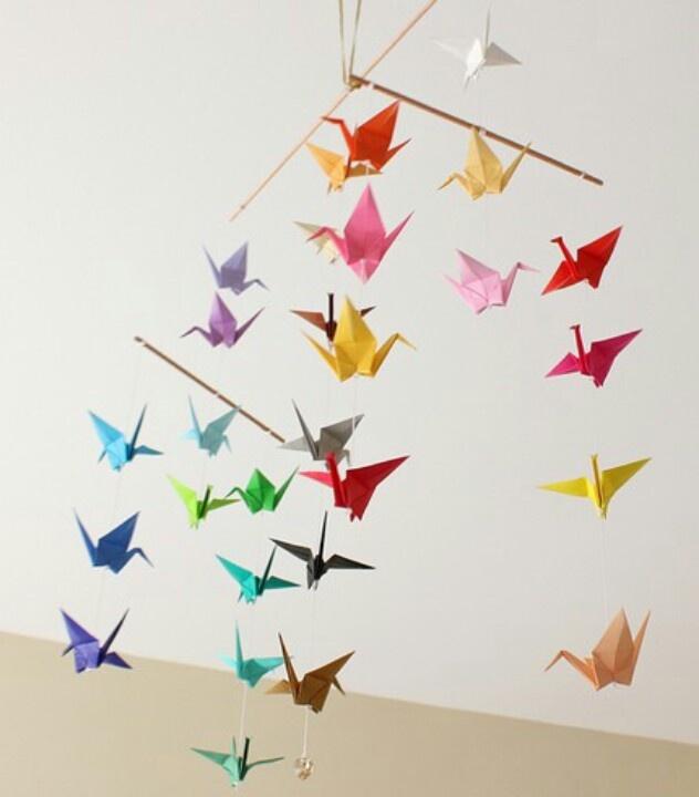 Decorative DIY Hanging Mobiles
