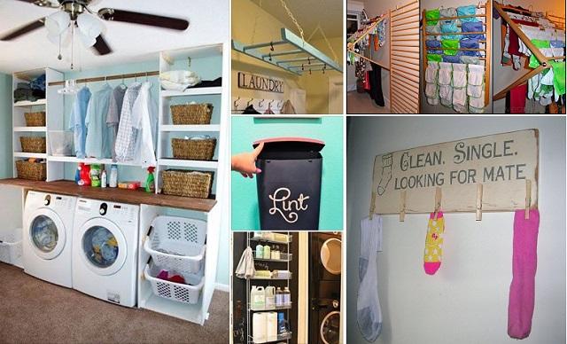 20 Smart Laundry Ideas