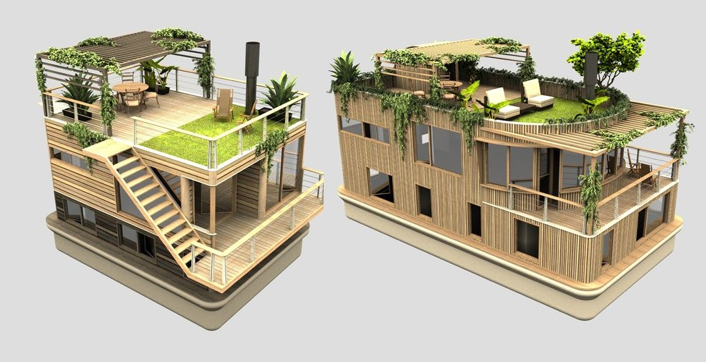 Amazing Houseboats That You Will Really Love