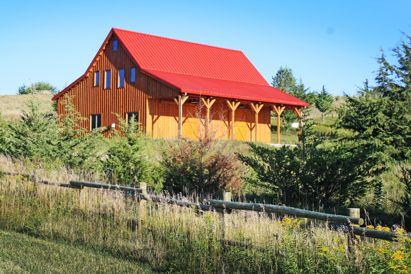 Magnificent Barn Country Home