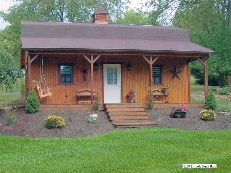 These Amish Barn Homes Start at $11,585