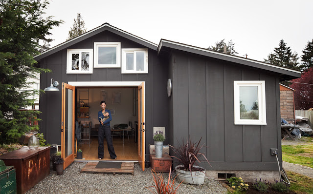 Incredible Transformed Garage into a Livable Space