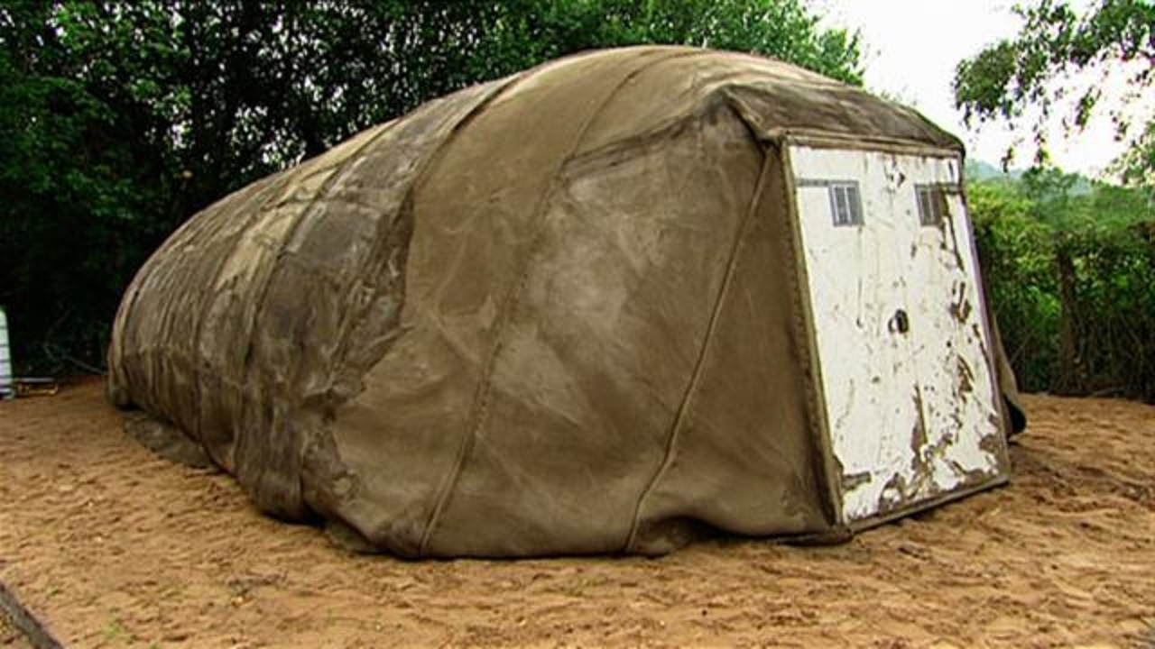 Concrete Tents