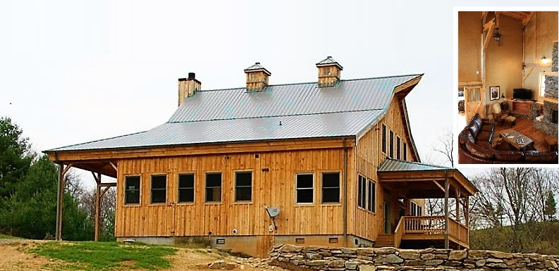 24x40 Ponderosa Country Barn Home With 12 And 15ft Lean Tos Wooden Cupolas