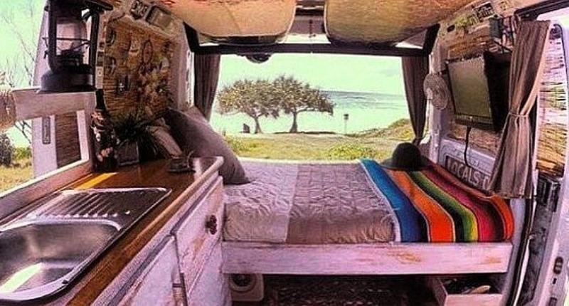 Converting a Van Into a Home - She Downsized to Pay Off Debt