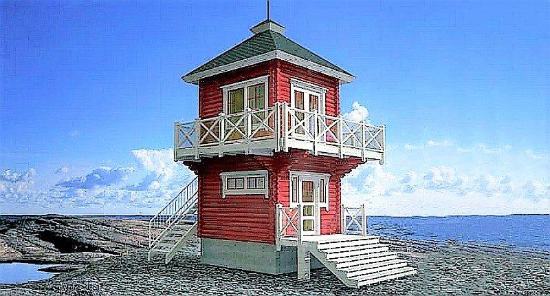 360-Degree view, 2-story Tiny House Design