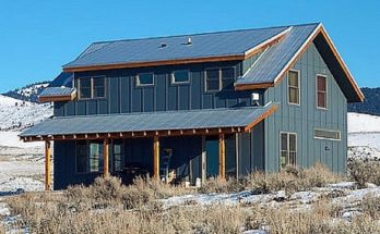 Build your own DIY Metal Farmhouse