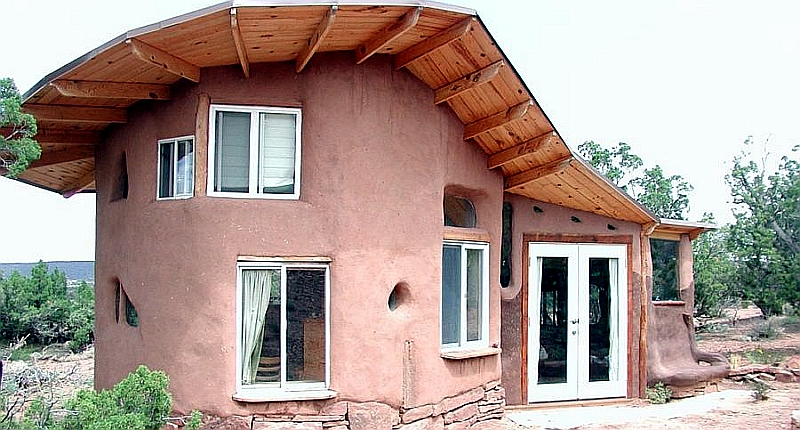 Building a Natural Earthen Shelter