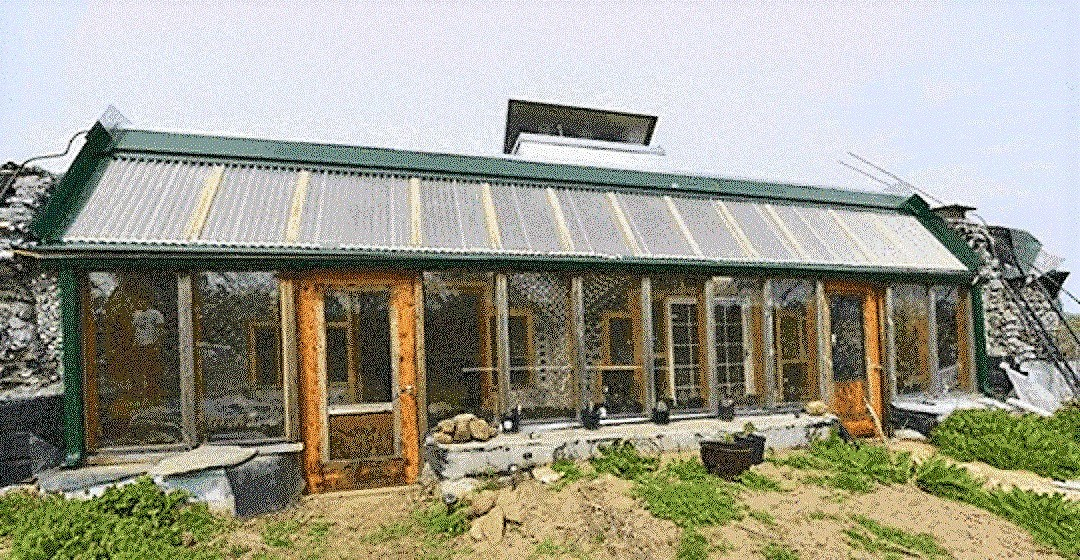 Building homes out of discarded materials is what Earthship is doing all over the world