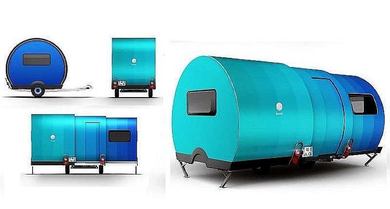 Micro-camper Triples Size in 25 Seconds