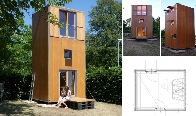 Home Box Container House