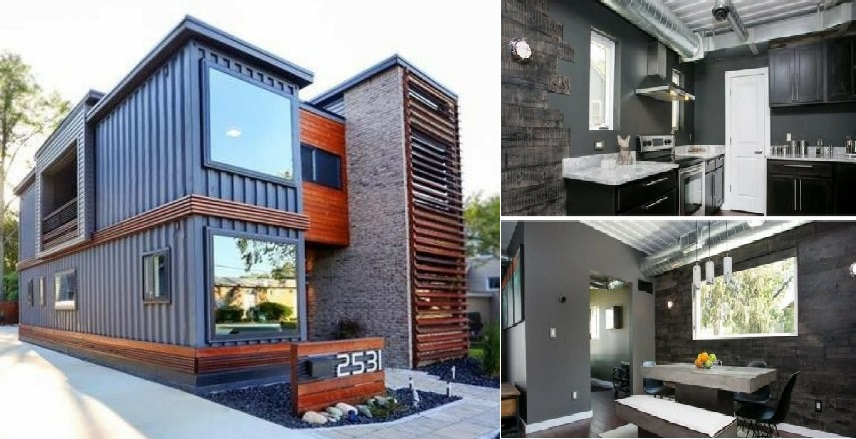 Royal Oak Shipping Container House