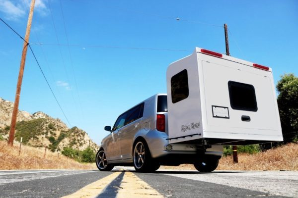 This Camper Expands to a Roomy Sleeper