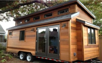 224 Foot Cider Box Tiny House