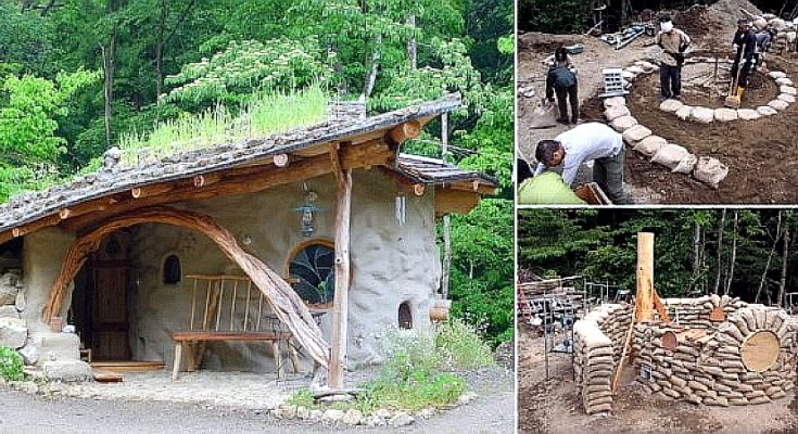 Earthbag Spiral House, and How to Build it