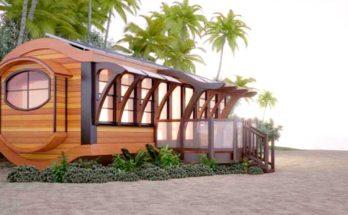 Net-zero Arc Prefab House