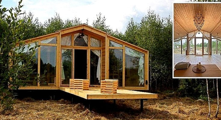 Simple But Beautiful Rustic Modular House