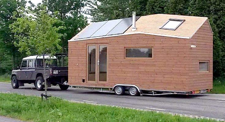 Tiny House on Wheels – Surprisingly Light Interior
