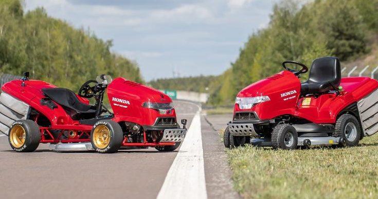 Honda Fast Lawnmower
